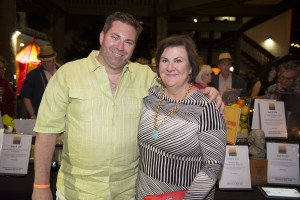 Dan and Becky Lieberman, Chair of the Museum's Board of Directors