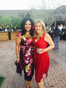 (l-r) Rhoda Rizkalla-Courvaras, Gala Chair and Kate Wells, CEO, Children's Museum of Phoenix